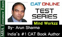 Online Mock CAT-MBA 2014 Exam Test Series from Arun Sharma
