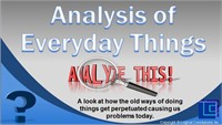 Analysis of Everyday Things