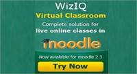 WizIQ Live Classes on Moodle