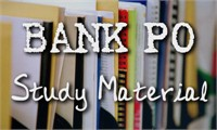 Study Material for Bank PO / Clerical Exam