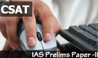 IAS Prelims CSAT 2014 Exam Online Preparation Course
