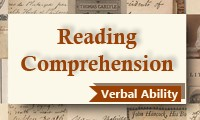 Reading Comprehension (Verbal Ability) Course for CAT 2015