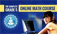 The Complete Grade 5 Online Math Course