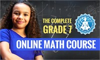 The Complete Grade 7 Online Math Course