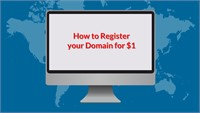How to Register Your Domain for $1